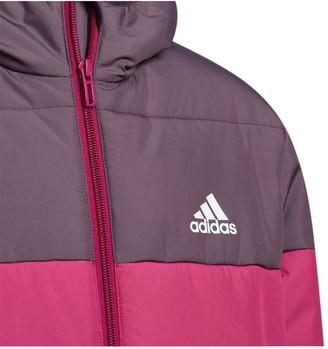 adidas Padded Zip Through Jacket - Purple
