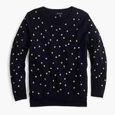 J.Crew Tippi sweater in embroidered stars