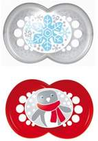 Mam 2-Pack Holiday Pacifiers