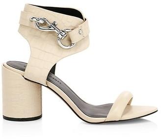 Rebecca Minkoff Malina Ankle-Cuff Leather Sandals