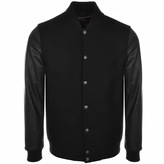 Pretty Green Beaconsfield Bomber Jacket Black