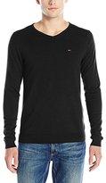 Tommy Hilfiger Men's Original V-Neck Long Sleeve Sweater