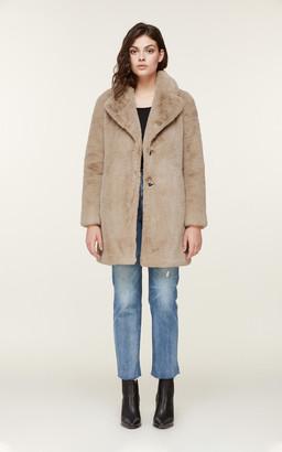 Soia & Kyo RENADA mid-length faux fur coat
