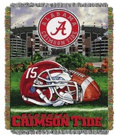 NCAA Alabama Crimson Tide Home Field Advantage College Throw