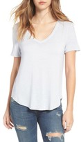 BP Women's Washed V-Neck Tee
