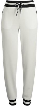 Karl Lagerfeld Paris Varsity-Striped Jogger Pants