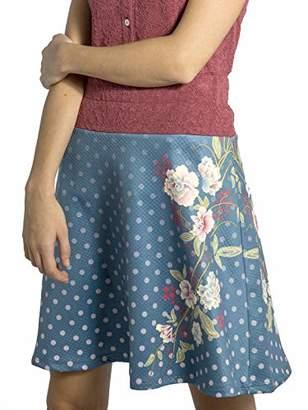 Smash Wear Smash! Women's Shia Skirt, (Blue 41), Large