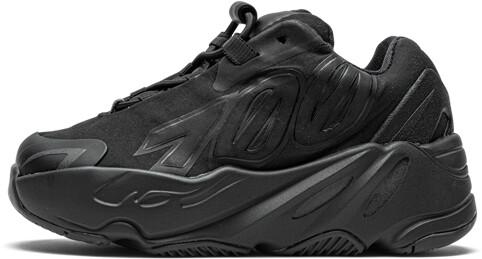 Adidas Yeezy Boost 700 MNVN Infant 'Triple Black' Shoes - Size 6K