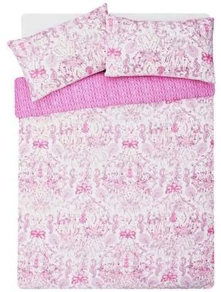 Argos Home Pink Paisley Bedding Set - Double