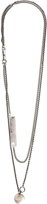 Werkstatt:Munchen Long Double Chain Necklace