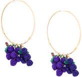 Mercedes Salazar Grape earrings