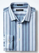 Banana Republic Grant-Fit Non-Iron Stripe Shirt