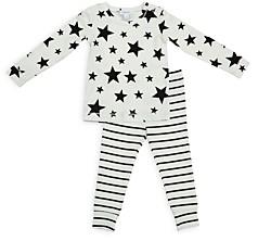 Angel Dear Unisex Stars & Stripes Pajama Set - Baby