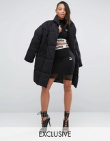 Puma Exclusive To ASOS Cropped Mesh Skirt Co Ord