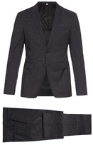 Burberry London Stirling Travel Tailoring Checked-wool Suit