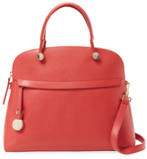 Furla Piper Medium Saffiano Leather Dome Satchel