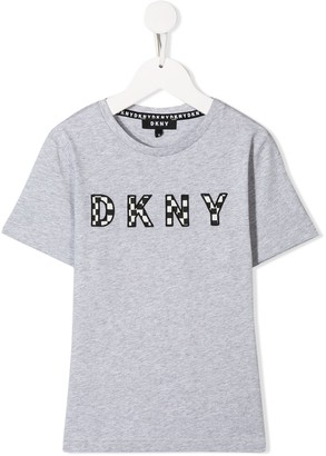 DKNY embroidered logo T-shirt