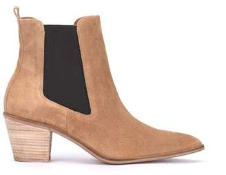 Mint Velvet Jenni Sand Pointed Ankle Boots