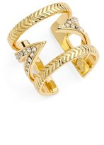 Ettika Crystal V Ring