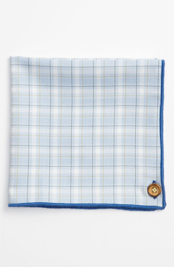 Wilson Armstrong & Cotton Pocket Square (Online Only)