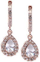 Givenchy Rose Gold-Tone Silk Teardrop Earrings