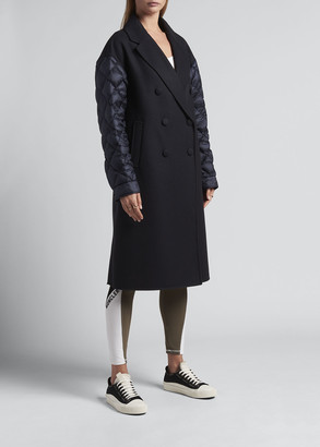 Moncler Kurhah Padded Long-Sleeve Coat