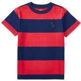 Ralph Lauren Childrenswear Striped Cotton Jersey T-Shirt