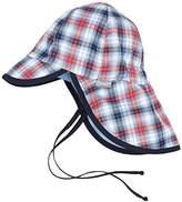 Sterntaler Baby Boys' Schirmmütze m. Nackenschutz Hat,47