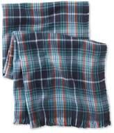 L.L. Bean Bean's Blanket Scarf, Plaid