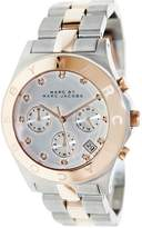 Marc Shoes by Women's MBM3178 Mother-Of-Pearl Stainless-Steel Quartz Watch