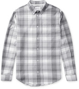 Norse Projects - Osvald Button-down Collar Checked Cotton Shirt