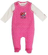 Salt&Pepper SALT AND PEPPER Baby Girls' BG Playsuit Allover Käfer Footies