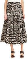 Lauren Ralph Lauren Petite Geometric Cotton Maxi skirt