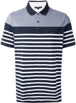 Michael Kors striped polo shirt - men - Cotton - M