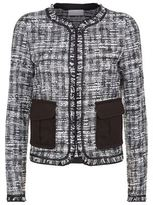 Escada Sport Frayed Tweed Jacket