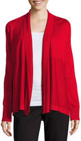 Liz Claiborne Long-Sleeve Cozy Open Cardigan