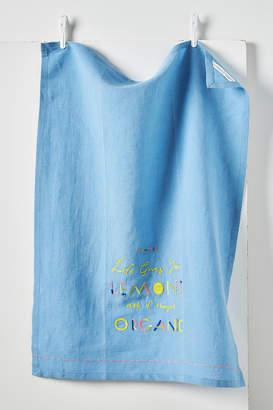 Maricor/Maricar When Life Gives You Lemons Dish Towel
