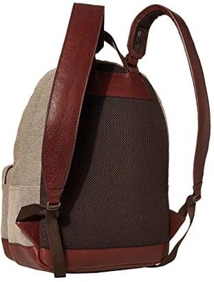 Bosca RFID Canvas/Washed Crossbody Backpack