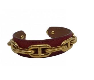 Hermes Chaine d'Ancre Gold Metal Bracelets