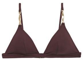 Melissa Odabash Mexico Embellished Triangle Bikini Top