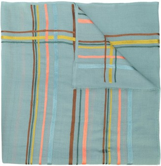 K. Janavi Horizontal Stripes Cashmere Scarf