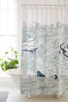 Urban Outfitters Elisa Cachero Odyssey Shower Curtain