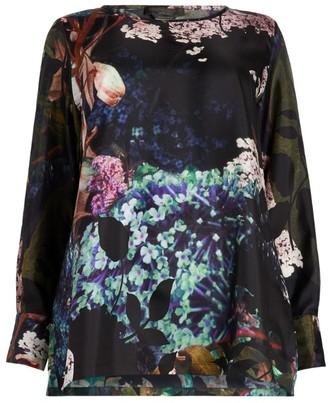 Marina Rinaldi Floral Print Tunic