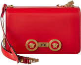 Versace Medusa Stud Icon Leather Shoulder Bag