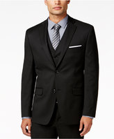 Alfani Men's Traveler Black Solid Slim-Fit Jacket, Only at Macy's