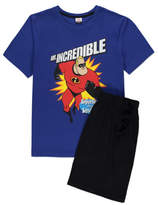George Disney Mr Incredible Pyjama Shorts Set