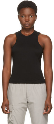 John Elliott Black Supima Tank Top