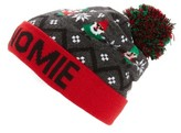 Capelli of New York Women's Sup Gnomie Led Beanie - Grey