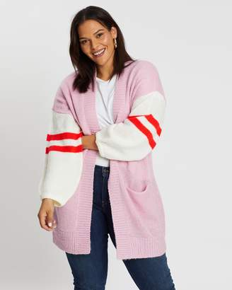 Elm Embrace College Knit Cardigan