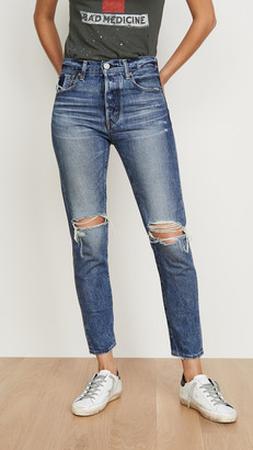 Moussy Beckton Tapered Jeans